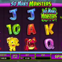 So Many Monsters Online Slot